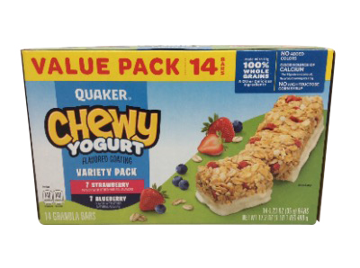 Quaker Chewy Yogurt Variety Pack