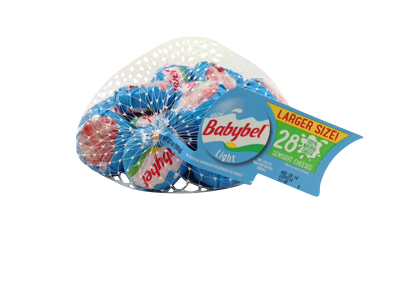 Laughing Cow Mini Babybel Light Cheese 28 Count